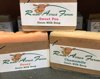 Goats Milk Soap- Discontinued Scents