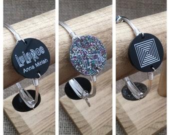 Lularoe Consultant Wire Wrapped Bangle Bracelet Completely Customizable