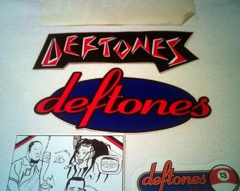 Deftones Stickers Decals