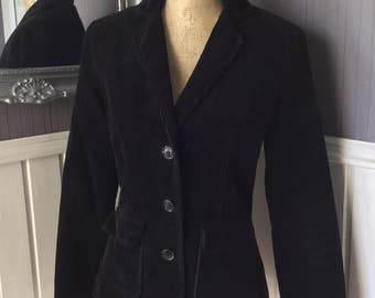 Ladies Laura Ashley Plush Corduroy Jacket, UK Size 8