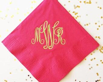 custom napkins cocktail napkins wedding napkins beverage