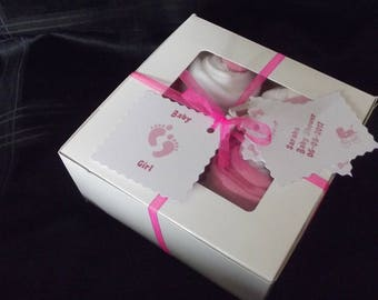 Baby Shower Gift Set 'Girl' Present...Cupcake Clothing.. *Cute*