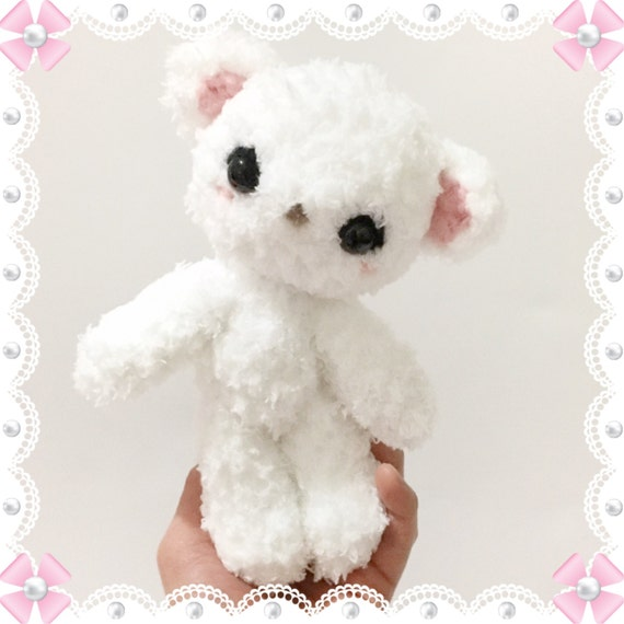 Amigurumi Baby Shower Bears : Teddy Bear Amigurumi Bear Plush Crochet Bear toy Stuffed Toy