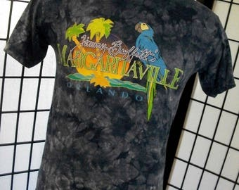 Jimmy Buffett Margaritaville Orlando FL Parrot Head tiedyed tee shirt Small S