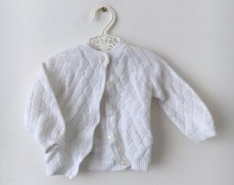Vintage open work jacket