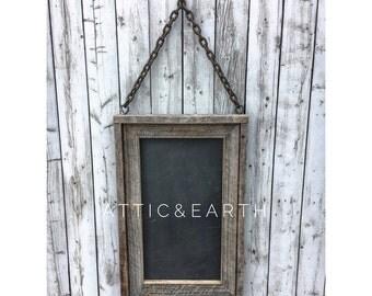 Barn Wood Chalkboard