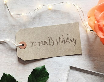 It's Your Birthday Stamp | Happy Birthday Stamp - Best Wishes - Sentiment Stamp