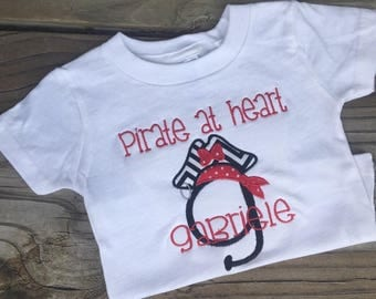 Pirate Letter Shirt