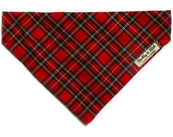 Royal Stewart Tartan Check Dog Bandana