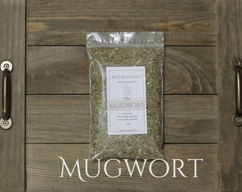 MUGWORT Dried Organic, Artemisia Vulgaris, Beesbotanics Herbal Remedy, Dream Pillow, Lucid Dreams, Ceremonial  Herb, Space Cleaning, Smudge