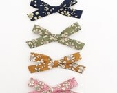 Liberty of London Quad - on nylon elastic headbands or hair clips