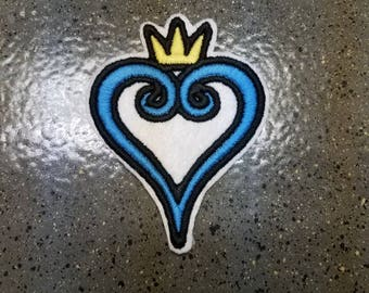 Kingdom Hearts Logo Sew On Patch