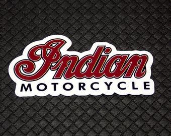 Indian Motorcycle logo Flexible Fridge Refrigerator Magnet Unique Gift by Osarix
