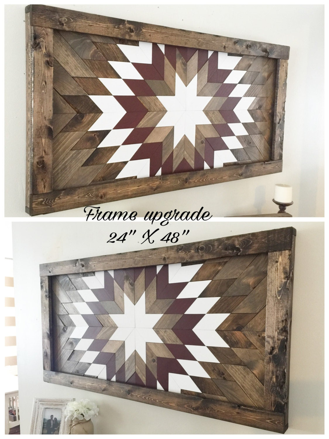 Sale reclaimed wood wall art wood wall by northernoaksdecorco Reclaimed wood wall art for sale