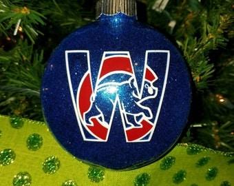 Cubs 2016 World Series ornament