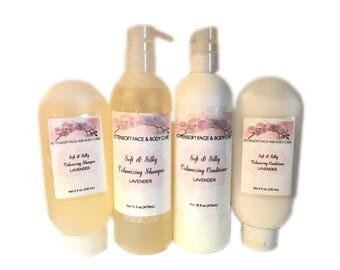 Soft and Silky Volumizing Shampoo and Conditioner