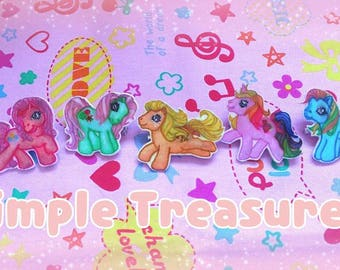 Cute My Little Pony Badges