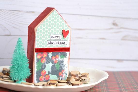 Christmas Handmade House Sign.