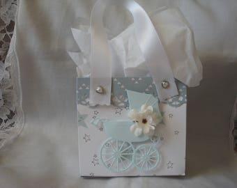 Mini Favor bags for baby shower, handmade