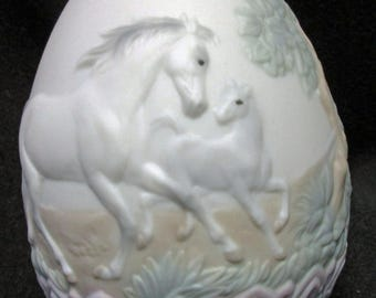 Antique Lladro Egg, Limited Edition, 1995  New, Old, Stock. Never Been sold or displayed.  1578a