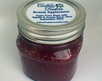 Applesauce - Aronia Applesauce - Sugar Free Applesauce - Unique Handmade Gifts