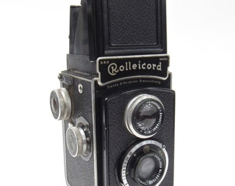 1950s Rolleicord Camera- Franke and Heidecke Braunshweig Vintage Camera