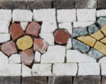 Pattern Mosaic Border