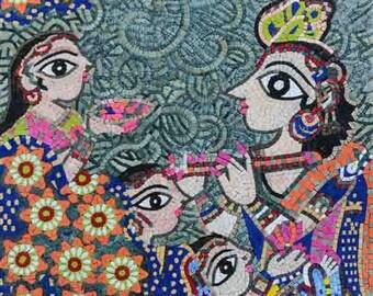 "Bharti Dayal ""Harmony"" - Mosaic Art Reproduction"