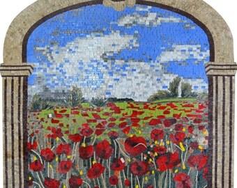 Poppy Flowers Beautifully Framed