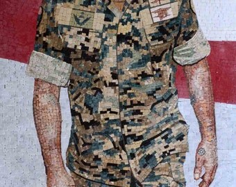 Custom Mosaic - General officer