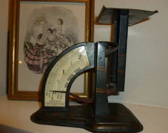 Vintage Postal Scale 1920's Or Earlier