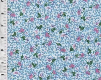 "Paintbrush Studio Ro Gregg ""Peggy Sue"" Small Tossed Flowers Fabric"