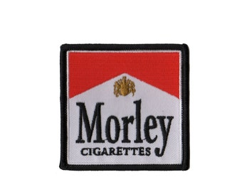 X-Files  Morley Iron On Patch - The Cigarette Smoking Man from ZanzibarLand