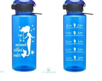 Mermaid Motivational Water Bottle Decal Set