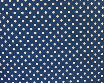 Blue Spot Fabric