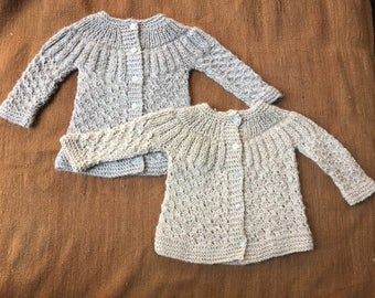 Alpaca sweater, Knitted sweater, Baby sweater