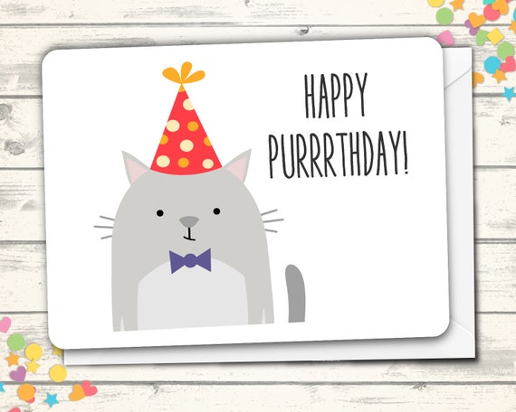 Happy Birthday Card Cat Pun Jpg 570x456 Shopkin Puns