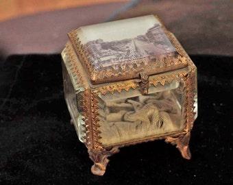 Brass Bijouterie Jewellery Box
