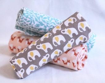Flannel Receiving Blanket, Organic, Gender Neutral
