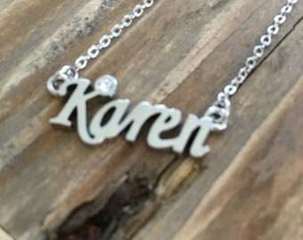 Karen Necklace in Silver