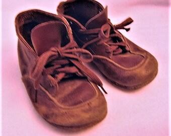 Vintage Leather Children's Shoes