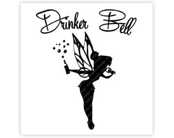 Disney, Drinker Bell, Tinkerbell, Peter Pan, Epcot, Food, Wine, Festival, Illustration, TShirt Design, Cut File, svg, pdf, eps, png, dxf