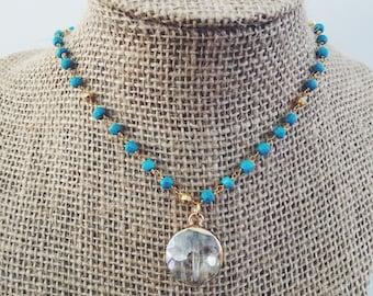 Turquoise Antique Necklace