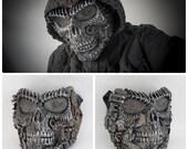 steampunk / techno phantom mascarade mask skull