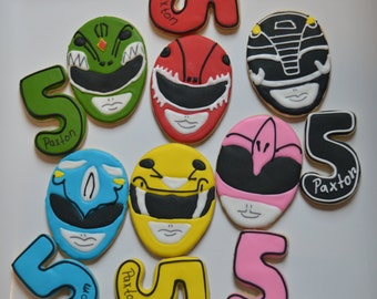 power rangers cookies