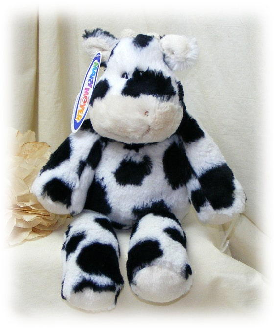 MARSHMALLOW COW . . by Mary Meyer  . . . Marked 50% Off