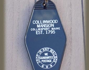 Dark Shadows Collingwood Mansion Vintage style Keychain