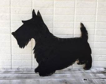 Dog Lover Gift. Dog schnauzer wood sign. Wooden dog wall art. Home decor sign. 2018 Year symbol. Unique Custom Gift.