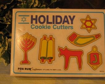 Vintage Jewish Cookie cutters