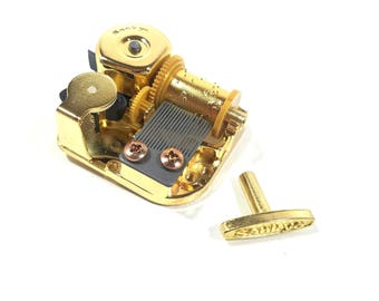 18 Note Music Box Movement, Music Box Component, Traditional Music Box Component, Popular Music Box Songs, Mechanical Music Box Movement
